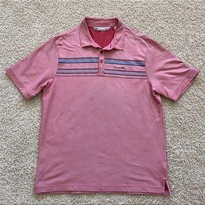 Travis Mathew golf polo shirt men L